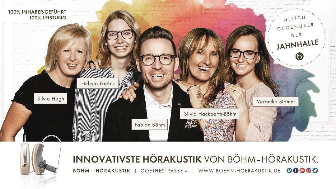 , Teamfoto und Imagebilder für BÖHM HÖRAKUSTIK
