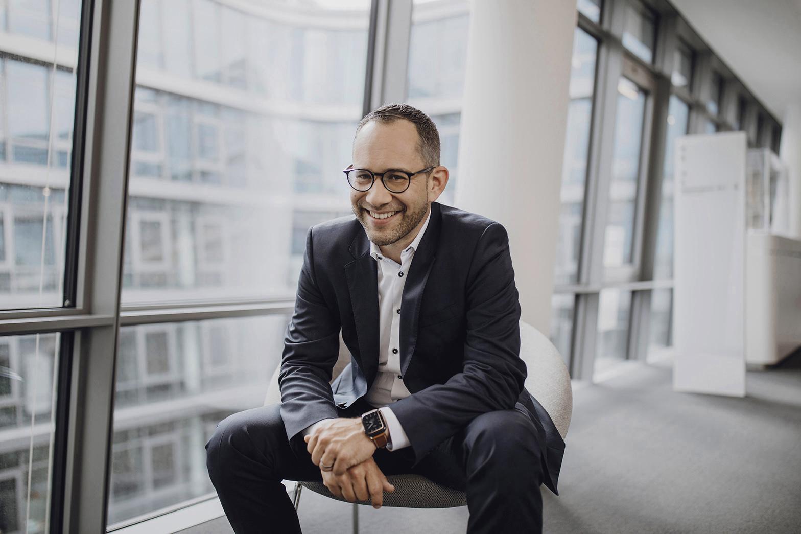 Portraitsession mit Florian Martens // Siemens AG