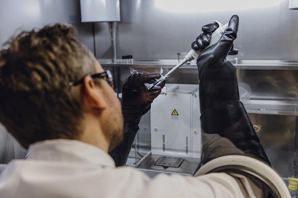 Biotech-Unternehmen Tubulis // Industriefotografie