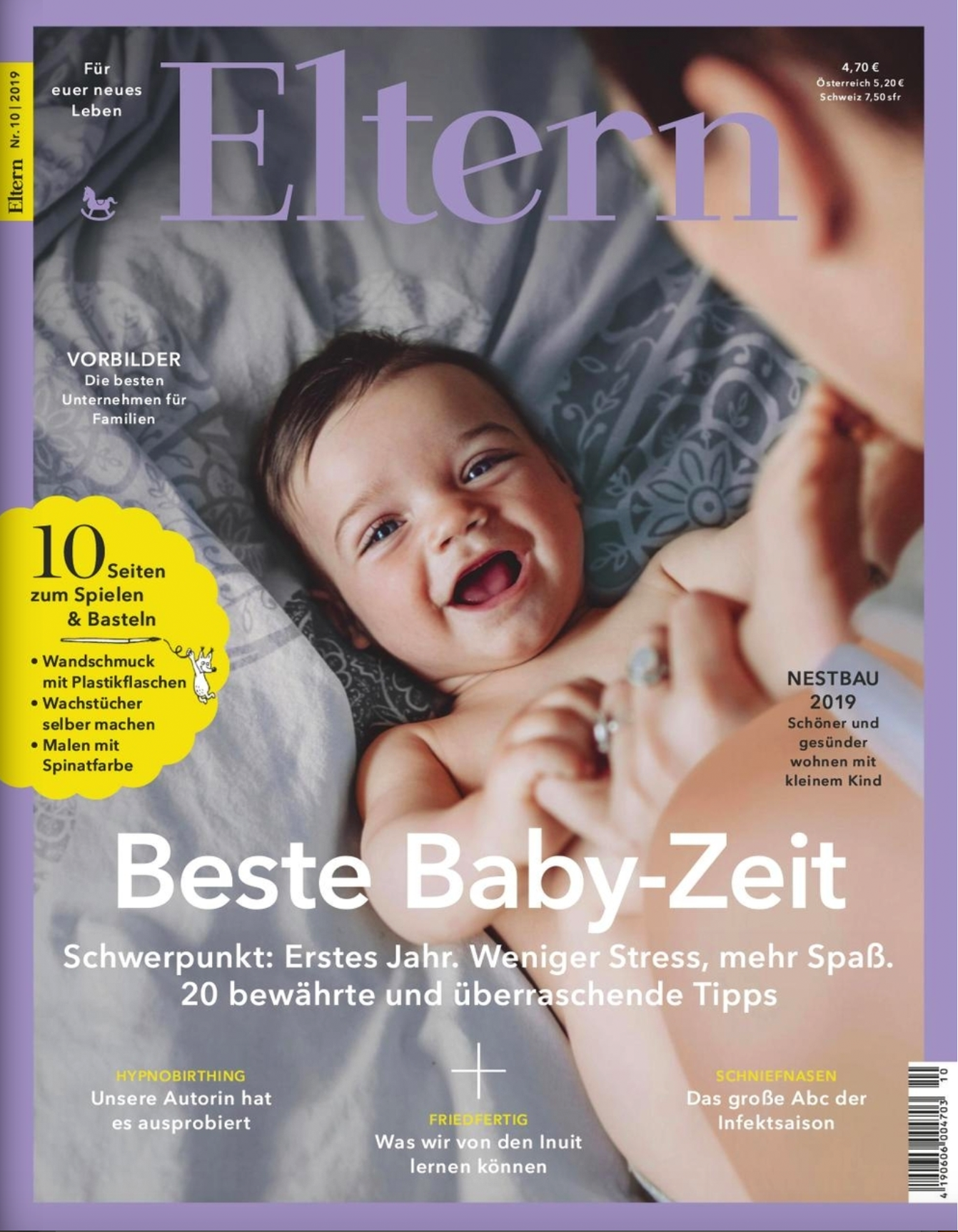 Covershooting für ELTERN Magazin